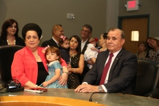 "The Swearing-in Ceremony for District 1 Commissioner Wifredo ""Willy"" Gort."